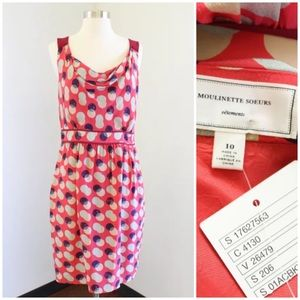 Moulinette Soeurs Here & There Polka Dot Dress